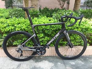 Disco de freio Cipollini NK1K carbono Estrada bicicleta completa com Original 105 R7020 ou ULTEGRA r8020 groupset Thru freio do eixo