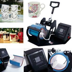 الحرارة الصحافة نقل آلة التسامي المزدوج الرقمية لكأس القهوة القدح 11 أوقية الساخنة