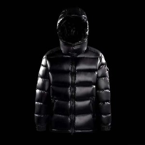 M's Classic Scenes Down Jacket Eason Chan in Same Maya Thickening Hooded Man Winter Coat of Cultivate Morality