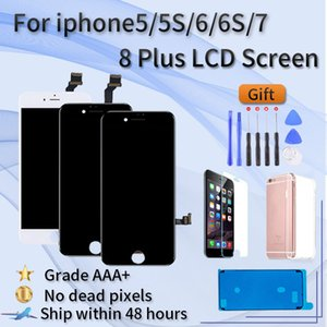 LCD Display For iPhone 5 5C 5S 6 6S 7 8 Plus screen assembly, iphone 7G 7Plus 8G 8Plus Display,3D Touch Screen Digitizer