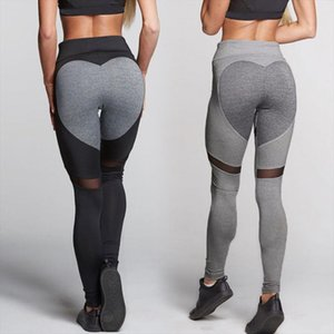 Newest Hoe Sale 2020 Active Women Casual Pants Ladies Fitness Skinny Spliced Leggings Pants Bottom Stylish Capris