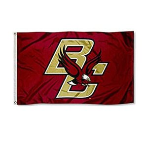 Boston College Eagles Flag NCAA High Quality Team Flag 3x5Ft Double Stitched Banner 90x150cm Sports Festival Digital Printed