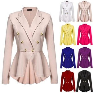 Women Tailored Suit Coat Frock Coat Outwear Lady Suit Formal Clothing Outfit H8