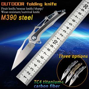Folding knife pocket survival high hardness sharp self-defense camping hunting tactics portable utility tools household fruit knife EDC