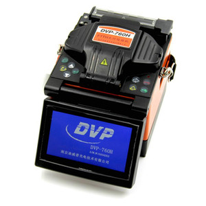 DVP-760 DVP-760H Single Fiber Fusion Splicer FTTx   FTTH Fiber Optic Splicing Machine DVP760 DVP760H