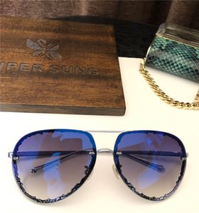 SK901 Fashion Sunglasses With UV Protection for men and Women Vintage oval Frameless popular Top Quality Come With Case classic sunglasses