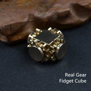 Nouvelle vitesse Décompression Cube Rubik Gyroscope fou Fingertip Dent / Neuf Lien rouge 4P0G