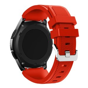 20 22mm Strap For Samsung Galaxy Watch 46mm 42mm Active Band gear S3 Frontier sport s2 s 3 2 46 Mm Amazfit Bip Silicone Bracelet sqckgg