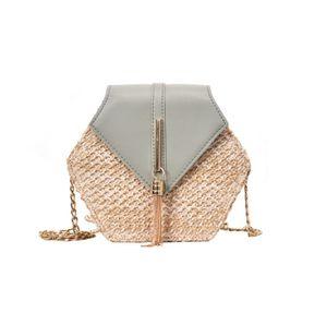 Straw Bag For Women Summer Woven Beach Crossbody Bags Ladies Small Purses And Handbags Female Travel Messenger Bag