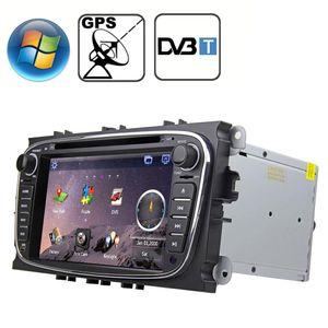 Rungrace 70 pollici Windows CE 60 TFT Screen in-Dash Car DVD Player per Ford Mondeo con Bluetooth GPS RDS DVB-T