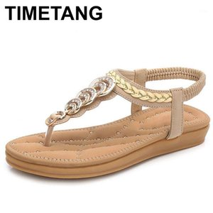 Timetangfree shippingsize35-41new National Estilo Duplo Bottom Confortável Boy Boho Feminino Sandálias Womensandals SummersHoeseSeus4891