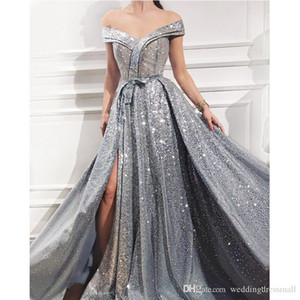Elegant and elegant Saudi Arabian women's evening dress Avon Zhu will make prom dress and shiny long skirt