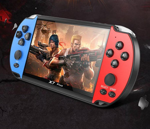 X7 Plus Game Console Camera HD Movies Double Rocker 8G Video Music Rechargeable Handheld vs 821 660 x12 x40