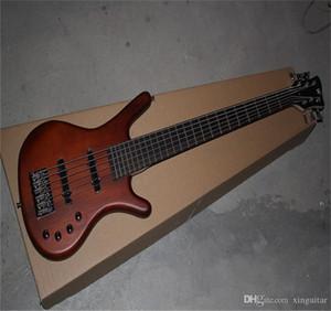 Ücretsiz Kargo En Kaliteli Warwick Corvette Amazing 6 Dize Elektrik Bas Gitar aktif devre aktif pikaplar sistemi gitar ile