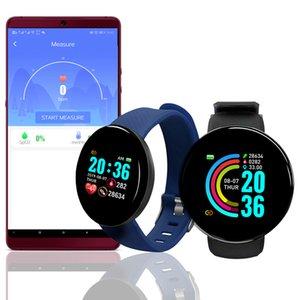 D18 Smart Watch Men Heart Rate Blood Pressure Blood Oxyge Monitor D13 Smart Bracelet Wristband Fitness Tracker Waterproof Y68