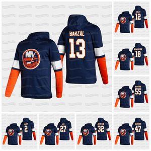 Womens Mathew Barzal New York Islanders 2021 Reverse Retro Jean-Gabriel Pageau Beauvillier Semyon Varlamov Komarov Martin Hoodie Jersey