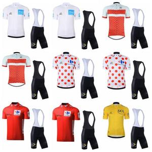 TOUR DE FRANCE team Cycling Short Sleeves jersey bib shorts set summer new high quality Top Brand Quality Mtb Sport Quick Dry K122707