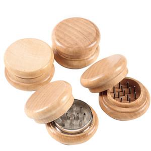 2-дюймовый 53 мм натуральный деревянный сигарет табачный табак специи травку мельница дыма дробилка Мюллер ручной работы