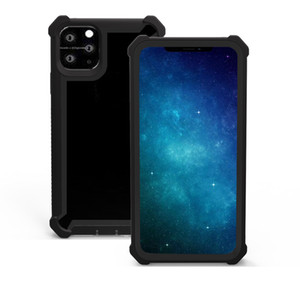 Cell Phone Case for iPhone 12 Mini 11 Pro XS Max XR 7 8 Plus Full Body Protector Hard Front Acrylic Hybird Clear Case