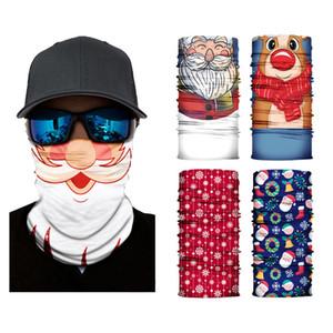DHL envío lavable navidad mágica bufanda balaclava cuello cuello cuello bandana motocicleta media cara máscara al aire libre ciclismo mágico bufanda kimter