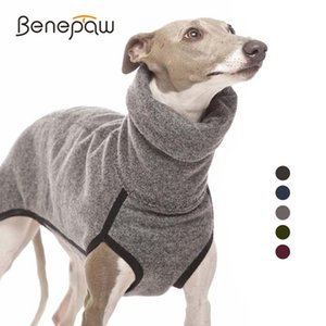 Benepaw Durable Warm Fleece Dog Clothing Winter Soft Comfortable High Neck Pet Jacket Clothes For Small Medium Large Dogs