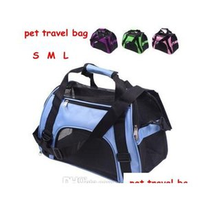 pet carrier portable pet backpack messenger carrier bags cat dog carrier outgoing travel teddy packets breathable small pet handbag DrRLS