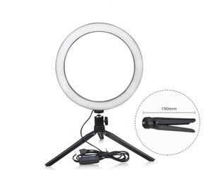 26cm Phone LED Light Ring Selfie Ring lamp Novelty novedades 2019 Photography Video Live Studio Fill light Photo light For Smartphone