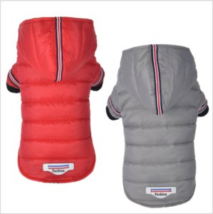 Winter Pet Dog Clothes Warm Down Jacket Waterproof Coat Hoodies for Chihuahua Small Medium Dogs Puppy Coat Best Sale Two-leg
