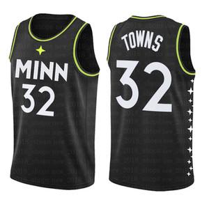 Karl-Anthony 32 Städte Anthony 1 Edwards Basketball MinnesotaTimberwolvesJersey Kevin Jimmy Garnett Butler Jamal 27 Murray Männer