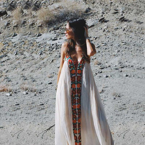 Summer Dresses Strapless floral embroidery sexy White maxi Dress long women Dresses hippie chic Vestido Robes