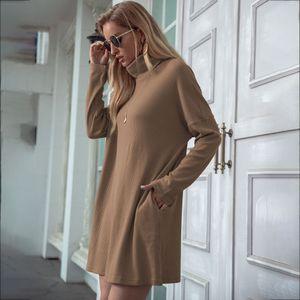 UQ7o Dresses Womens Solid Color Maxi Dresses Female Spaghetti Fashion-Sexy Summer V Neck Strap with Pockets Free Shipping