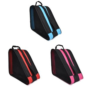 Portable Children Roller Skates Thickened Single Double Shoulder Backpack Outdoor Sports Storage Bag Shoe Collection Z1121