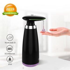 SVAVO 350 ml Automatische Seifenspender Infrarot Berührungslose Bewegung Badezimmer Dispenser Smart Sensor Flüssig Seifenspender für Küche Y200407