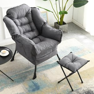 Nordic Art Stitching ricreativo Rocking Chair Divano per adulti Nap sedia domestica Balcone Pigro Ascensore Facile