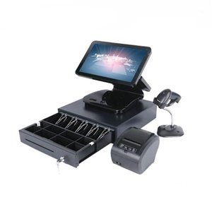 Monitors Selling Cash Register Dual Screen 15.6+11.6inch All In One Epossystems Pc1