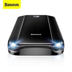Baseus Car Start Starter Dispositivo de inicio Batería Power Bank 800A Jumpstarter Auto Buster Emergencia Booster Carger Salto Start Y1201