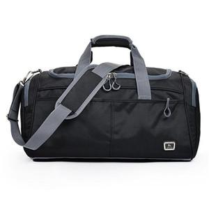 Outdoor Waterproof Large Capacity Sports Gym Bag Men Women Portable Fitness Training Bag Soft Foldable Shoulder Travel HandBag Z1121