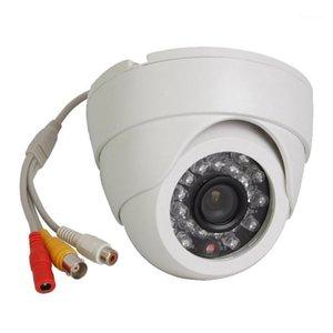 الكاميرات uvusee 10 قطع الكثير cctv hd 1000tvl 24leds ir-cut d / n داخلي قبة الصوت الأمن كاميرا ميكروفون كاميرا مراقبة 1