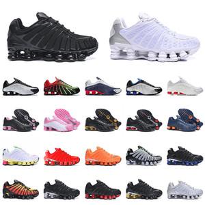 og r4 shox tl 301 2021 Shox TL R4 Sport Running Shoes Triplo Preto TODO Branco Prata OG 301 Shox Spruce Aura Off Masculino Tênis Feminino 36-46