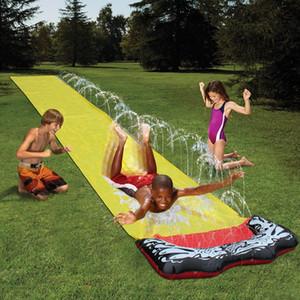 المائية نفخ للأطفال متعة في زلة بركة سبلاش بارك في الهواء الطلق اللعب حديقة سباق الحديقة المياه الشريحة حمامات المياه متعة Q1217