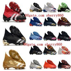 2020 أعلى جودة أحذية رجالي كرة القدم المفترس موخوت 20+ fg كرة القدم المرابط المفترس 20 أحذية كرة القدم عالية الكاحل scarpe calcio جديد