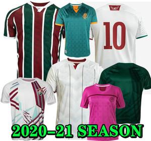 Fluminense Soccer Jersey Club 20 21 Inicio 2020 2021 Visita de la camisa de fútbol