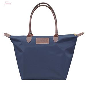 2020 New Beach Tote Bag Fashion Donne Canvas Grande Capacità Oxford Panno Borsa a spalla Shopping Bag Big Size Borsa