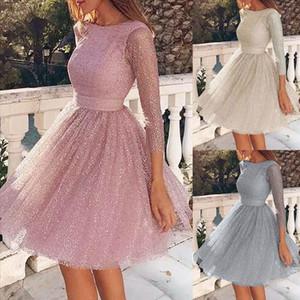 Women Sling Cross Wedding O Neck Elegant Party Evening Slim Hollow Lace Dress Vestido Festa Sukienki Na Wesele Damskie sw