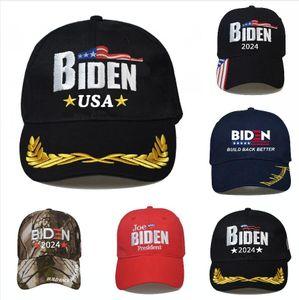 BIDEN 2024 Cappello Elezione presidenziale Berretto da baseball Berretto da baseball regolabile Build Birder Best Biden Harris Ball Ball DDA835