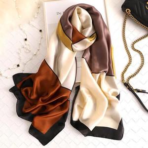 Yulaili Summer Soft Silk Scarf Women Shawl Ladies Simple Design Hijab Scarfs Beach Top Dress Scarves Muffler Wraps Free Shipping