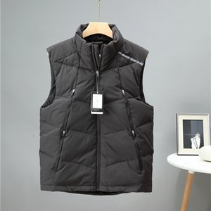 2020 New Mens Down Vest Jackets Sleeveless Winter Men's Warm Vest Homme Casual Thicken Waistcoat Chalecos Para Hombre 3XL,201 Y1120