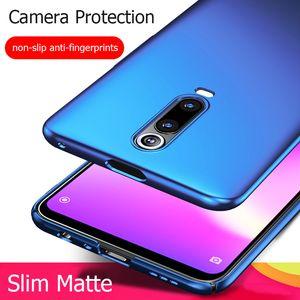 Cobertura corporal Telefone Full K20pro Mi 9T Pro Ultra Fino Slim Matte Hard PC Voltar caso para Xiaomi Redmi K20