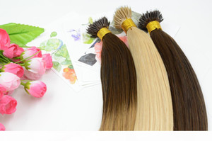 Фото Индийского Nano Ring Virgin Hair Extensions 18 20 дюймов Ombre Nano кольцо выдвижение волос 100gram Remy волос NEW !!!