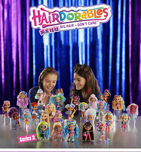 Hair doll Blind Box 2nd generation trend color changing Toy Surprise Unwrap Music blind box gift girl toy